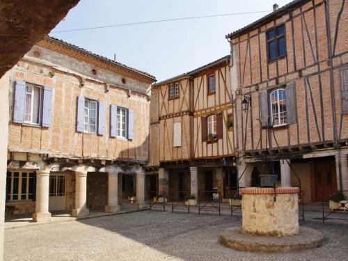 Le centre historique et la maison